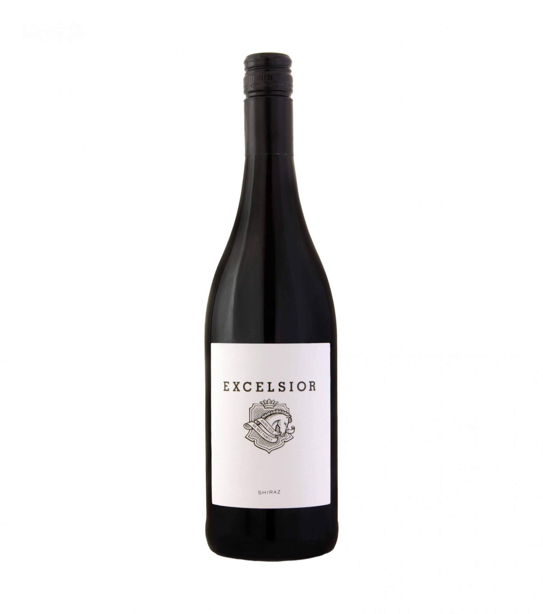 Excelsior Shiraz red wine 2015