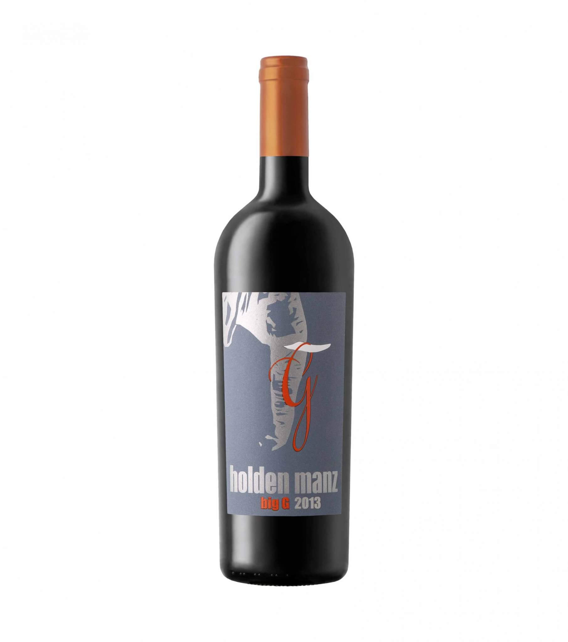 holden manz big G red vegan wine