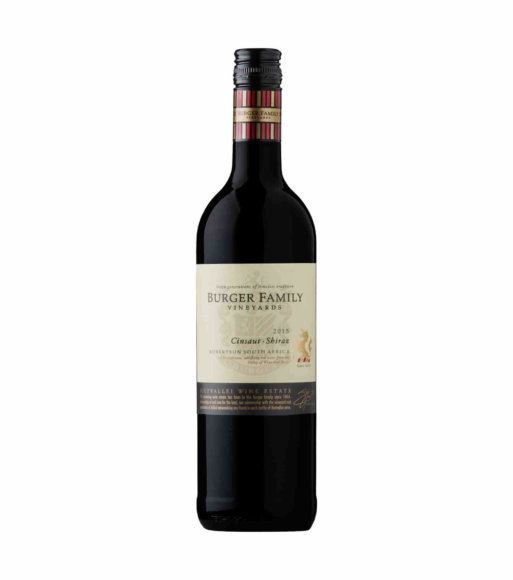 Rietvallei Cinsaut/Shiraz red wine