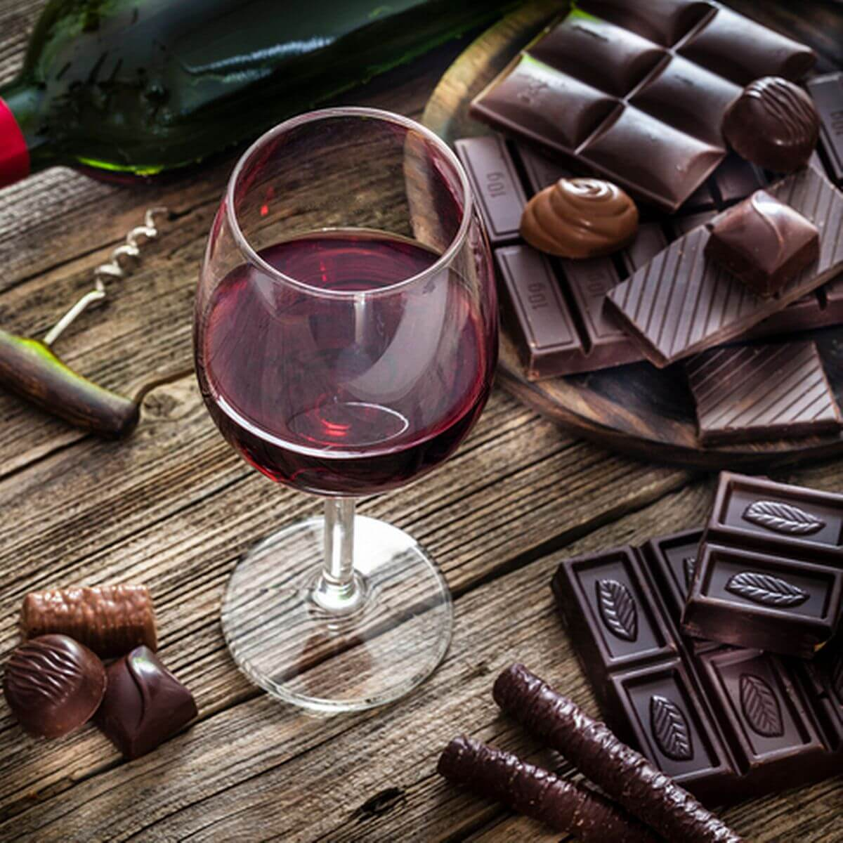 wine and chocolate parings for easter